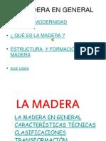Madera Especificaciones Tecnicas