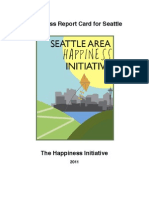 Seattle Happiness Report Card 2011