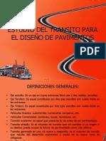 ESTUDIO DEL TRANSITO PARA EL DISEÑO DE PAVIMENTOS