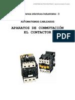 3 Aparatos de Conmutacic3b3n El Contactor