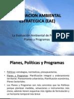 Evaluacion Ambiental Estrategica (Eae)