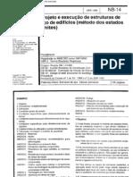 Nbr 8800 Nb 14 - Projeto E Execucao de Estruturas de Aco de Edificios (Metodo Dos Estados Limites)