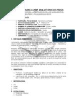 Plan Para La Catequesis Particulares-2009