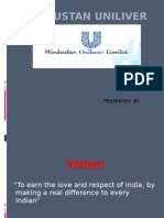Hindustan Unilever marketing management by surya