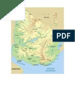 Mapa Físico Uruguay PDF