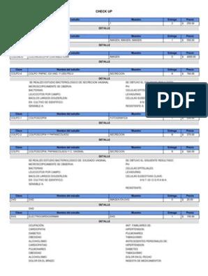 Precio de prueba de esperma de laboratorio bp