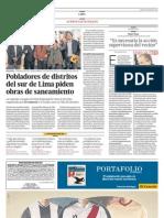 Susana Villarán, Henry Pease y Audiencias El Comercio
