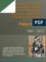 Pablo Picasso, anotações sobre uma interpretação realizada por Carl Gustav Jung.