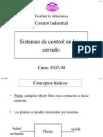 Sistemas de control en lazo cerrado