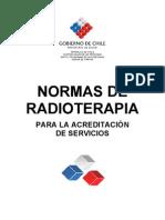 Norma Radioterapia MINSAL