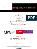 Mapping Media Policy in Indonesia