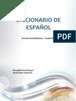 Diccionario para el correcto uso del Español
