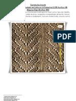 37) Apostila Cartela Numero Dois-Para Carro de Croche a Maquina Em Lã Ou Linha Industrial 2/28