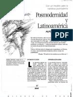 Alfonso de Toro Posmodernidad y Latinoamerica