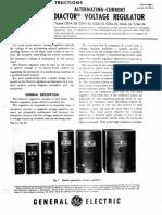 Alternating-Current Diactor Voltage Regulator Types GDA-29 GDA-30 GDA-31 GDA-32 GDA-33 GDA-34 GEH-1095I - 2