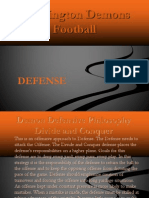 Washington Demons Defense Playbook