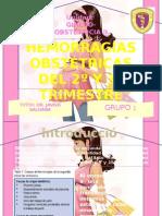 HEMORRAGIAS DEL 2º Y 3º TRIMESTRE
