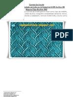 38) Apostila-Cartela Numero Três-Para Carro de Crochê Á Maquina Em Lã Ou Linha Industrial 2/28