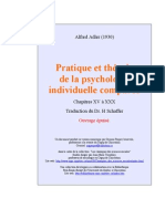 Alfred Adler - Pratique Et Théorie de La Psychologie Ind (1)