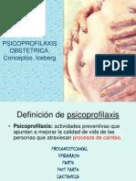 Ppsicoprofilaxis Obstetrica. Conceptos. Iceber