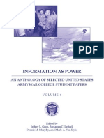 Information as Power  Volume 6  2012 Web Version