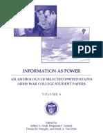 Information as Power  Volume 6  2012 Web Version