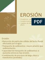 Erosion Cauces
