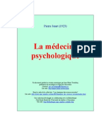 Pierre Janet - La Medecine Psychologique