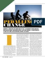 Pedalling Change