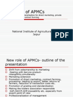 New Role of APMCs
