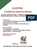 PALESTRA  - O PODER DOS MODELOS MENTAIS