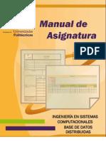 M.a. Base de Datos Distribuidas