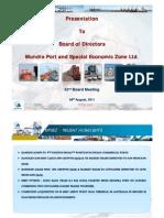 Adani Ports_Board Presentation 4811
