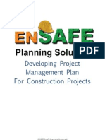 Developing Project Management Plan for Construction Projects