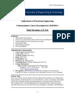 Course Description (Ce 215)