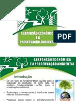 A EXPANS+âO ECON+öMICA E A PRESERVA+ç+âO AMBIENTAL NOVO ECONOMIA_ para apresentacao