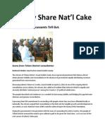 Equally Share Nat
