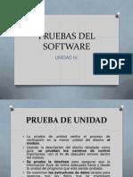 IV. Pruebas Del Software
