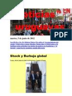 Noticias Uruguayas Martes 5 de Junio Del 2012