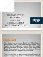 Employees Provident Fund & Miscellaneous Act 1952