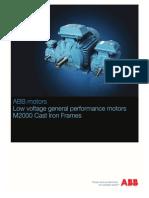 Catalog Motor ABB