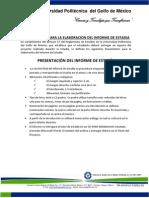 Lineamientos Informe Estadias-Actualizado 2011