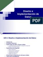 TEMA 4.Diseno de Datos