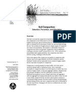 Preventing and Fix 4 Soil Compaction