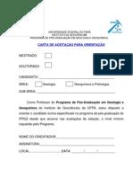 Carta Aceitacao Orientacao PPGG