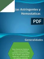 Sustancias Astringentes y Hemostaticashugo
