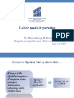 Labor Market Paradox