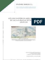 Estudio Histórico-Arqueológico de las Murallas de Bernedo (Álava)