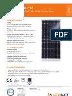 Solarwatt m300-72 Ac Eng