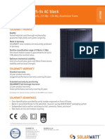 Solarwatt m225-54 Black Ac Eng